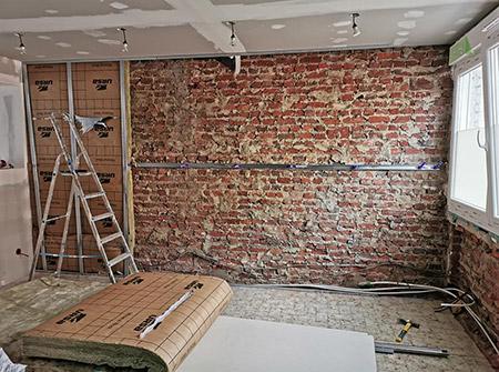 Travaux de rénovation à Valenciennes